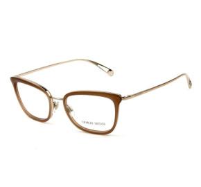 Giorgio Armani AR5078 - Marrom/Dourado 3011 52mm - Óculos de Grau
