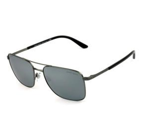 Giorgio Armani AR6065 - Chumbo/Cinza Semi-Espelhado 3003/6G 58mm - Óculos de Sol