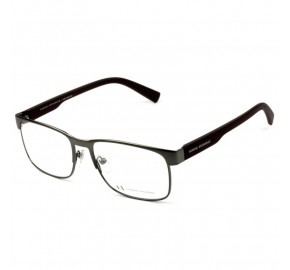 Armani Exchange AX1030L - Chumbo/Preto Fosco 6088 55mm - Óculos de Grau