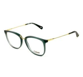 Chloé CE 2731 Verde/Dourado 416 53mm - Óculos de Grau