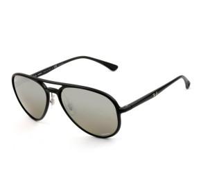 Ray Ban Chromance RB4320-CH  - Preto/Cinza Espelhado Polarizado 601-S/5J 58mm - Óculos de Sol