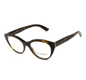 Óculos Dolce & Gabbana DG3246 502 53 - Grau