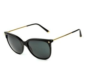 Dolce & Gabbana DG4333 - Óculos de Sol 501/87 Preto e Dourado Lentes 55mm