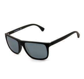 Emporio Armani EA4033 - Preto Fosco/Cinza 5649/6Q 56mm - Óculos de Sol