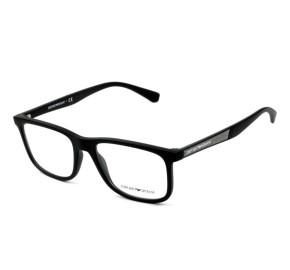 Emporio Armani EA3112 - Preto Fosco 5042 56mm - Óculos de Grau