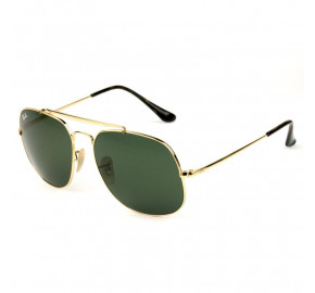 Ray Ban General RB3561 - Dourado/G15 001 57mm - Óculos de Sol