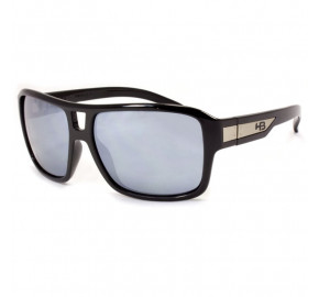 HB Storm Gloss Preto Brilho/Cinza Espelhado 90101002 - Óculos de Sol