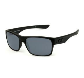 Oakley Twoface Steel 9189-05 - Preto Fosco/Cinza 60mm  - Óculos de Sol