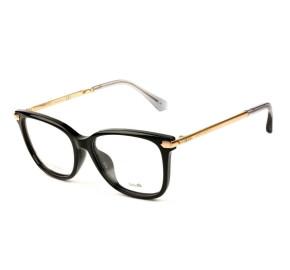 Jimmy Choo JC174 - Preto/Dourado N08 53mm - Óculos de Grau