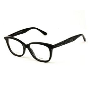 Jimmy Choo JC188 - Preto/Brilho NS8 52mm - Óculos de Grau