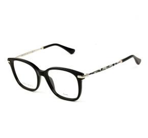 Jimmy Choo JC195 - Preto/Dourado BSC 50mm - Óculos de Grau