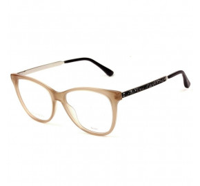 Jimmy Choo JC199 - Bege/Preto FWM 53mm - Óculos de Grau