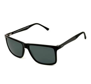 Mormaii Kona Plus - Óculos de Sol Preto Brilho/Cinza Polarizado
