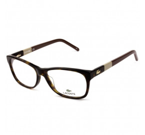 Lacoste L2691 - Turtle/Marrom 214 53mm - Óculos de Grau