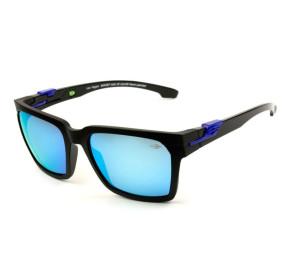 Mormaii Las Vegas M0057 - Preto Fosco/Azul Espelhado AAU12 55 - Óculos de Sol