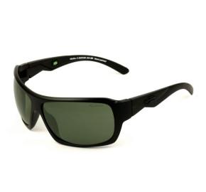 Mormaii Malibu II - Óculos de Sol Preto Fosco/Verde Polarizado