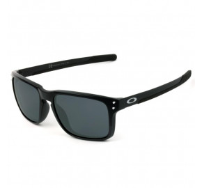 Oakley Holbrook MIX OO9384 - Preto Fosco/Cinza 55mm - Óculos de Sol