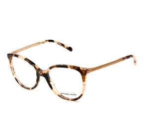 Michael Kors MK4034 - Turtle/Dourado 3205 52mm - Óculos de Grau