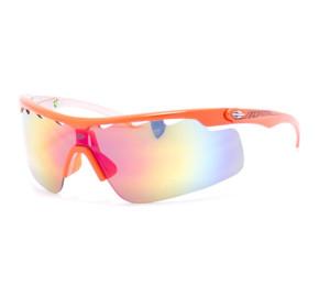 Mormaii Athlon 166 - Laranja/Prata Espelhado 43511 86mm - Óculos de Sol