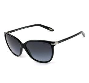 Polo Ralph Lauren RA5160 - Óculos de Sol 501/11 Preto e Prata/cinza Degradê Lentes 57mm