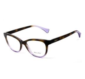 Ralph Lauren RA7102 - Óculos de Grau Turtle/Lilás 5736 Lentes 52mm