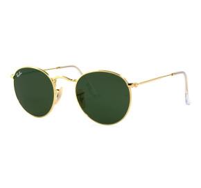 Ray Ban Round Metal RB3447L Dourado/G15 001 50mm - Óculos de Sol