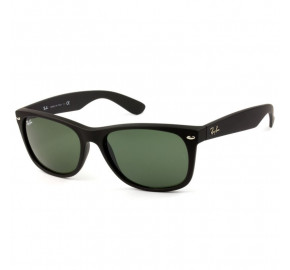 Ray Ban New Wayfarer RB2132LL Preto Fosco/G15 622 58mm - Óculos de Sol