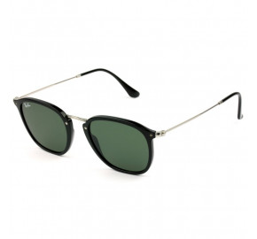 Ray Ban Highstreet RB2448-N - Preto Brilho/G15 901 51mm - Óculos de Sol