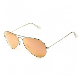 Ray Ban Aviador RB3025L - Rose/Prata 019/Z2 58mm - Óculos de Sol