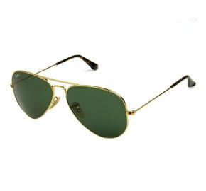 Ray Ban Aviador RB3025 Dourado/G15 181 58mm - Óculos de Sol