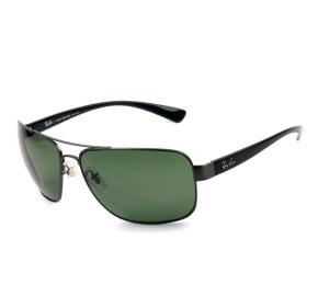 Ray Ban RB3503L - Prata/G15 Polarizado 041/9A 66mm - Óculos de Sol
