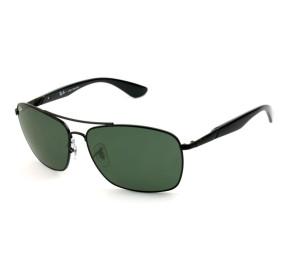 Ray Ban RB3531L - Preto/G15 006/71 64mm - Óculos de Sol