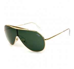 Ray Ban Wings RB3597 -  Dourado/G15 9050/71 33mm - Óculos de Sol