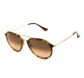 Ray Ban RB4253 - Turtle/Marrom Degradê 710/A5 53mm - Óculos de Sol