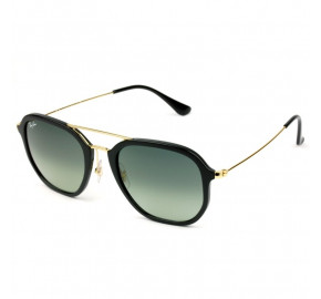 Ray Ban Highstreet RB4273 - Preto Brilho/Cinza Degradê  601/71 52mm - Óculos de Sol