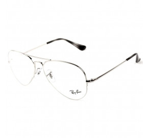 Ray Ban Aviador RX6589 - Prata 2501 56mm - Óculos de Grau
