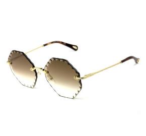 Chloé Rosie CE 143S Marrom Degradê 742 58mm - Óculos de Sol