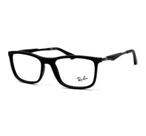 Ray Ban RX7029 Preto 2077 55mm - Óculos de Grau