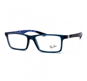 Ray Ban RB8901 Azul Translúcido 5262 55mm - Óculos de Grau