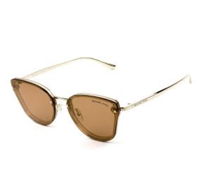Michael Kors Sanibel MK2068 - Óculos de Sol 33522C Dourado Espelhado Lentes 58mm