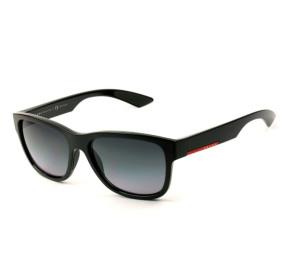 Prada Linea Rossa SPS 03Q - Preto/Cinza Degradê 1AB-5W1 57mm - Óculos de Sol