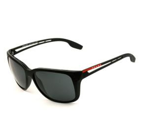 Prada Linea Rossa SPS 03T - Preto Fosco/G15 1BO-5S0 59mm - Óculos de Sol