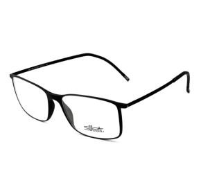 Silhouette SPX2902 - Preto Fosco 40 6050 55mm - Óculos de Grau