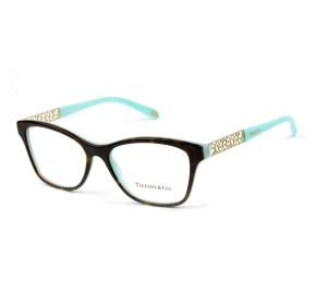 Tiffany & Co TF2130 - Turtle/Azul 8134 54mm - Óculos de Grau