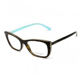 Tiffany & Co TF 2174 - Óculos de Grau Turtle/Azul 8015 Lentes 53MM