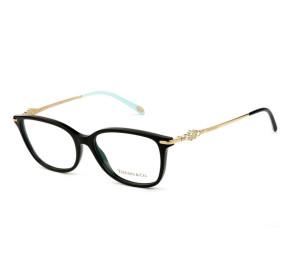 Tiffany & Co TF2133-B Preto/Dourado 8001 55 - Óculos de Grau