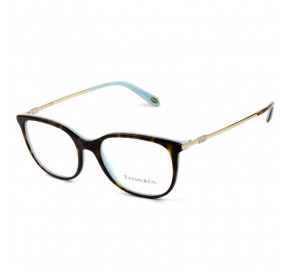 Tiffany & Co TF2149 - Óculos de Grau 8134  Turtle e Dourado Lentes 53mm