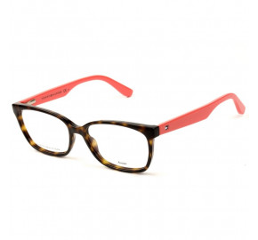 Tommy Hilfiger TH1492 - Turtle/Salmão 9N4 53mm -  Óculos de Grau