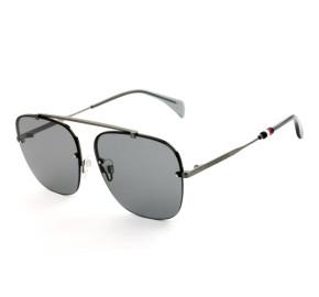 Tommy Hilfiger TH 1574/S - Óculos de Sol Chumbo KJ1IR Lentes 59mm