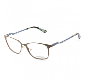 Victor Hugo VH1260 - Marrom Claro/Azul 0A60 53mm - Óculos de Grau
